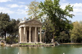 Ionic Temple of Aesculapius, God of Healing, Designed by Antonio Asprucci Photographic Print by James Emmerson