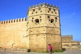 City Walls, Oudaia Kasbah, Rabat, Morocco, North Africa, Africa Photographic Print by Neil Farrin