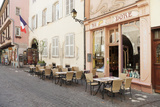 Cafe Au Croissant Dore, Rue Marchands, Colmar, Alsace, France, Europe Photographic Print by Markus Lange