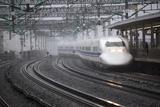 Stuart Black - Bullet Train at Shin-Osaka Station, Osaka, Kansai, Japan, Asia - Fotografik Baskı