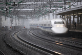 Bullet Train at Shin-Osaka Station, Osaka, Kansai, Japan, Asia Photographic Print by Stuart Black