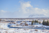 Thingvallabaer and River Oxara, Thingvellir National Park, UNESCO World Heritage Site, Iceland Photographic Print by Neale Clark