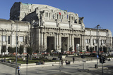 The Facade of Milan Central Railway Station (Milano Centrale) Photographic Print by Stuart Forster