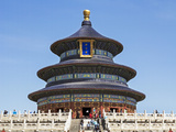 Hall of Prayer for Good Harvests, Temple of Heaven (Tian Tan), Beijing, China Photographic Print by Gavin Hellier