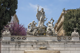 Neptune Fountain in Piazza Del Popolo, Rome, Lazio, Italy Photographic Print by James Emmerson