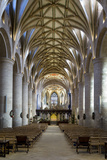 Nave of Tewkesbury Abbey (Abbey Church of St. Mary the Virgin) Photographic Print by Stuart Black