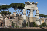 Basilica Aemilia, Near Trajans Markets, Ancient Roman Forum, Rome, Lazio, Italy Photographic Print by James Emmerson