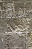 Relief of a Priest, Temple of Horus, Edfu, Egypt, North Africa, Africa Photographic Print by Richard Maschmeyer