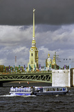 Peter and Paul Fortress on Neva Riverside, St. Petersburg, Russia Photographic Print by Gavin Hellier