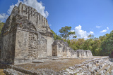 Structure Vi, Chicanna, Mayan Archaeological Site Photographic Print by Richard Maschmeyer