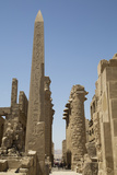 Obelisk of Tuthmosis, Karnak Temple, Luxor, Thebes, Egypt, North Africa, Africa Photographic Print by Richard Maschmeyer