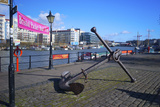 Old Anchor on Bristol Harbour, Bristol, England, United Kingdom, Europe Photographic Print by Rob Cousins