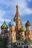 St. Basils Cathedral in Red Square, UNESCO World Heritage Site, Moscow, Russia, Europe Fotodruck von Gavin Hellier