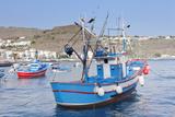 Fishing Boats at the Harbour, Playa De Santiago, La Gomera, Canary Islands, Spain, Atlantic, Europe Photographic Print by Markus Lange