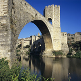 Medieval Bridge, Besalu, Catalunya (Costa Brava), Spain Photographic Print by Stuart Black