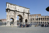 Arch of Constantine (Arco Di Costantino) and the Colosseum, Rome, Lazio, Italy Photographic Print by Stuart Black