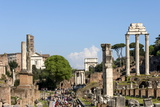 Roman Forum with Temple of Vesta Photographic Print by James Emmerson