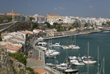 View over Port and Old Town, Mahon, Menorca, Balearic Islands, Spain, Mediterranean Photographic Print by Stuart Black