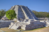 Castillo De Kukulcan, Mayapan, Mayan Archaeological Site, Yucatan, Mexico, North America Photographic Print by Richard Maschmeyer