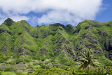Hau'Ula Forest Reserve, Koolau Mountain Rage, Oahu, Hawaii, United States of America, Pacific Photographic Print by Michael DeFreitas