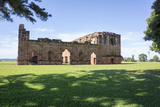 Jesus De Tavarangue, One of the Best Preserved Jesuit Missions, Paraguay Photographic Print by Peter Groenendijk