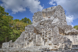 Structure Xx, Chicanna, Mayan Archaeological Site Photographic Print by Richard Maschmeyer