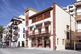 Town Hall at Plaza De Las Americas Square, San Sebastian, La Gomera, Canary Islands, Spain, Europe Photographic Print by Markus Lange