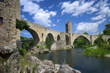 The Romanesque Bridge, Besalu, Catalonia, Spain Photographic Print by Rob Cousins