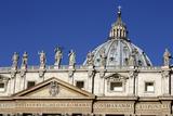 St. Peter's Basilica, Vatican City, Rome, Lazio, Italy Photographic Print by Stuart Black