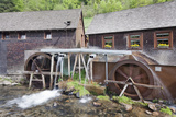 Hexenlochmuehle Mill Near Furtwangen in Spring, Black Forest, Baden Wurttemberg, Germany Photographic Print by Markus Lange