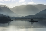 Little Island, Head of the Lake in November, Lake Ullswater Photographic Print by James Emmerson