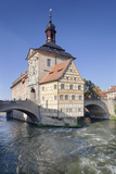Old Town Hall, UNESCO World Heritage Site, Regnitz River, Bamberg, Franconia, Bavaria, Germany Photographic Print by Markus Lange