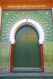 Entrance to Mosque, Tangier, Morocco, North Africa, Africa Photographic Print by Neil Farrin