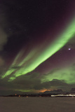 Aurora Borealis (Northern Lights), Abisko, Lapland, Arctic Circle, Sweden, Scandinavia, Europe Photographic Print by Christian Kober