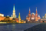 Red Square and the State History Museum, Moscow, Russia Photographic Print by Gavin Hellier