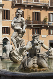 Fontana Del Moro, by Bernini, Piazza Navona, Rome, Lazio, Italy Photographic Print by James Emmerson