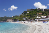 Le Ghiaie Beach, Forto Falcone Fortress, Portoferraio Photographic Print by Markus Lange