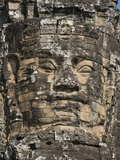 Detail of Carving, Angkor Wat Archaeological Park, Siem Reap, Cambodia, Indochina, Southeast Asia Photographic Print by Julio Etchart