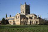 Tewkesbury Abbey (Abbey Church of St. Mary the Virgin), Tewkesbury, Gloucestershire, England, UK Photographic Print by Stuart Black