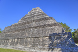 Temple I, Chaccoben, Mayan Archaeological Site Photographic Print by Richard Maschmeyer