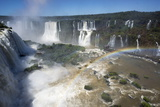 Iguacu Falls, Iguacu National Park, Brazil Photographic Print by Peter Groenendijk