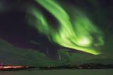Aurora Borealis (Northern Lights), Abisko, Lapland, Arctic Circle, Sweden, Scandinavia, Europe Photographic Print by Christian Kober