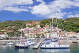 Harbour, Rio Marina, Island of Elba, Livorno Province, Tuscany, Italy, Mediterranean Photographic Print by Markus Lange