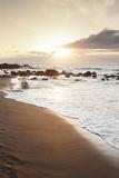Playa Des Ingles, Beach, La Playa, Valle Gran Rey, La Gomera, Canary Islands, Spain, Atlantic Photographic Print by Markus Lange