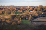 View over Village, Burwash, East Sussex, England, United Kingdom, Europe Photographic Print by Stuart Black