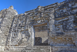 Monster Mouth Doorway, Hormiguero, Mayan Archaeological Site Photographic Print by Richard Maschmeyer