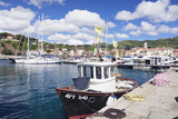 Harbour with Fishing Boats, Porto Azzuro, Island of Elba Photographic Print by Markus Lange