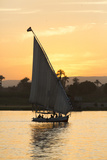 Felucca on the Nile River, Luxor, Egypt, North Africa, Africa Photographic Print by Richard Maschmeyer