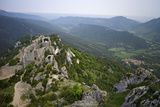 Peyrepertuse Cathar Castle, French Pyrenees, France Photographic Print by Rob Cousins