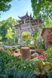 Traditional Chinese Stone Gate Photographic Print by Andreas Brandl